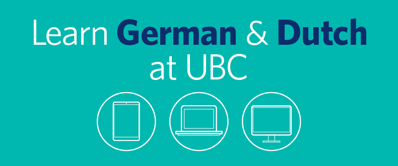 Learn German and Dutch at UBC Extended Learning.