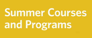 Explore Summer Courses and Programs