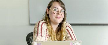 Anika, student attending the Pre-Graduate School Program